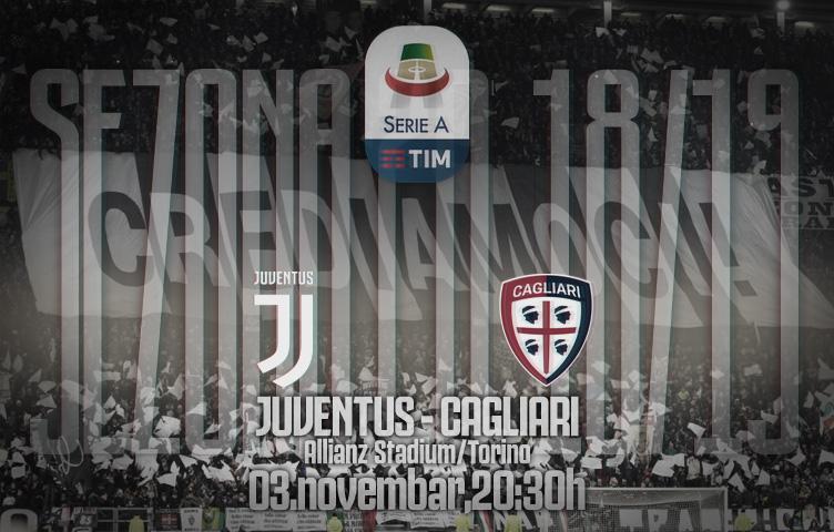 Serie A 2018/19 / 11. kolo / Juventus - Cagliari, subota, 20:30h