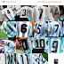 A tipografia das camisas nas Copas do Mundo - Parte 02
