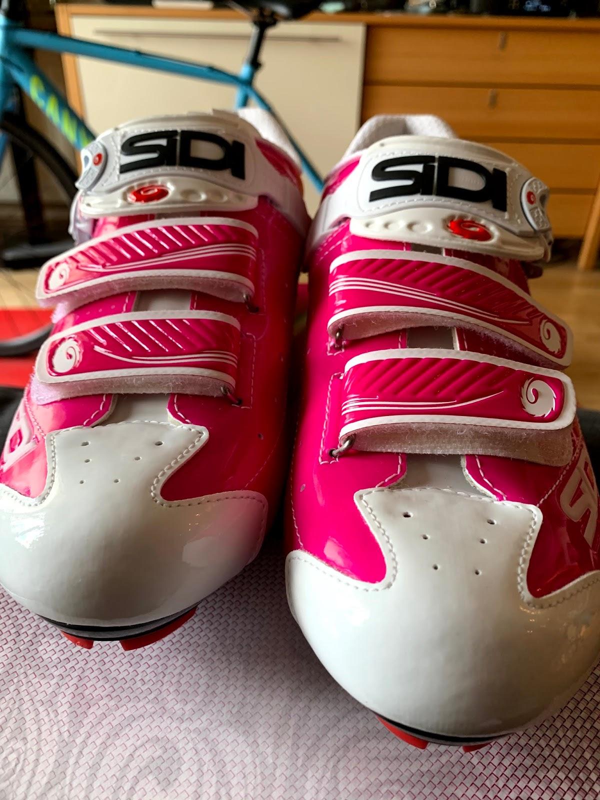 Moje różowe SIDI – buty na spinning