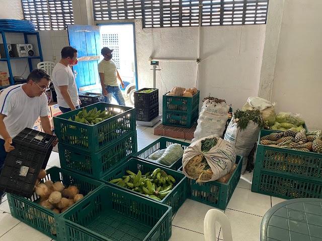 Prefeitura capta seis toneladas de alimentos para população em situação de vulnerabilidade social