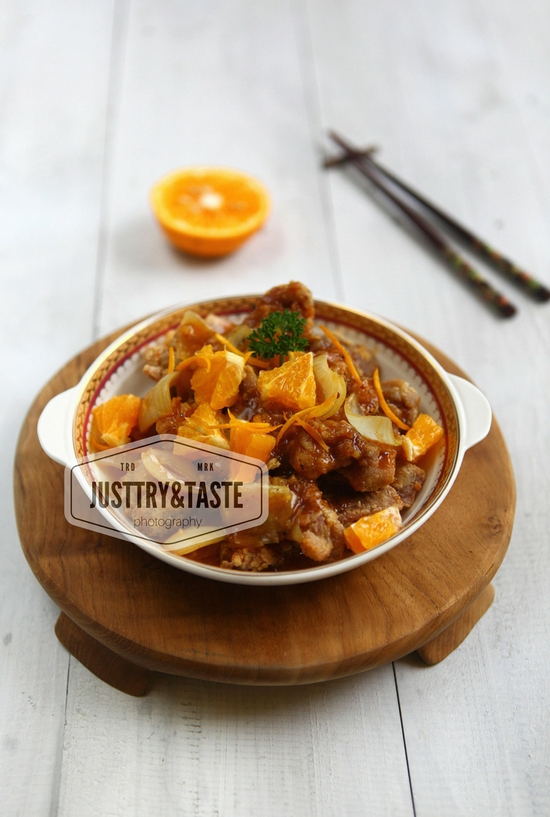 Resep Simple Orange Chicken