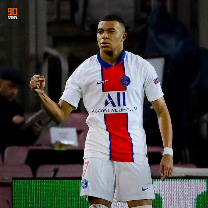 Kylian Mbappe reigns supreme tonight on champions League