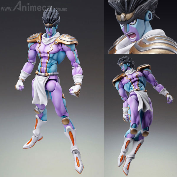 Figura Star Platinum Super Action Statue (Hirohiko Araki Specified Color) JoJo's Bizarre Adventure Part 4