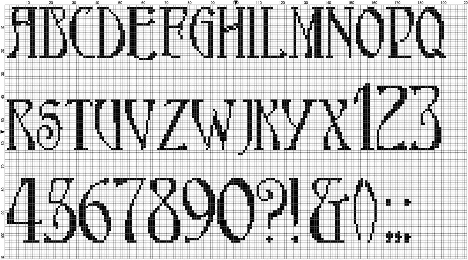 Chat Recognise A Font Know A Similar One Crossstitch