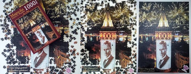 magnolia Puzzle 1000 parça