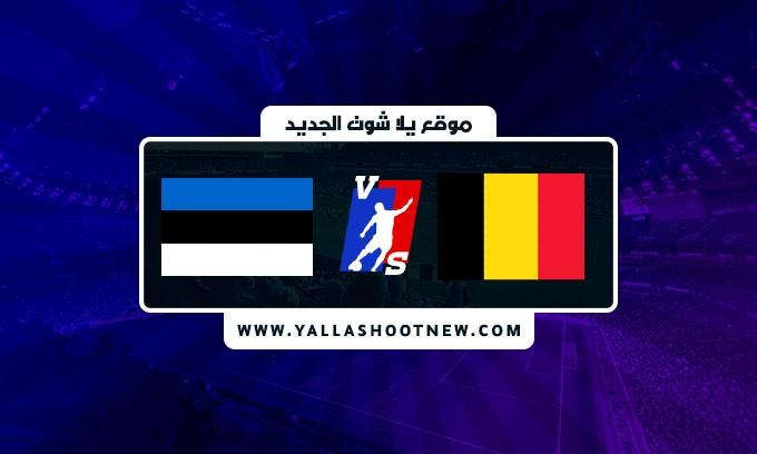 نتيجة مباراة بلجيكا واستونيا اليوم في تصفيات كأس العالم