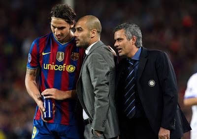 10 năm Mourinho vô địch Cúp C1, thì thầm với Pep điều sững người 2