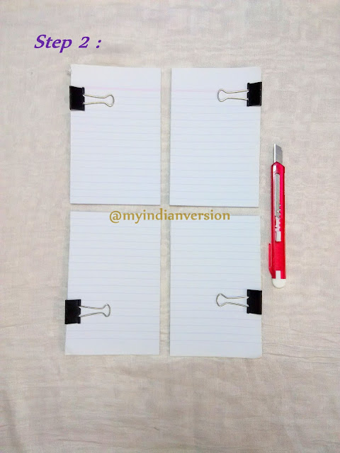DIY Magnetic Notepad Tutorial - Step 2