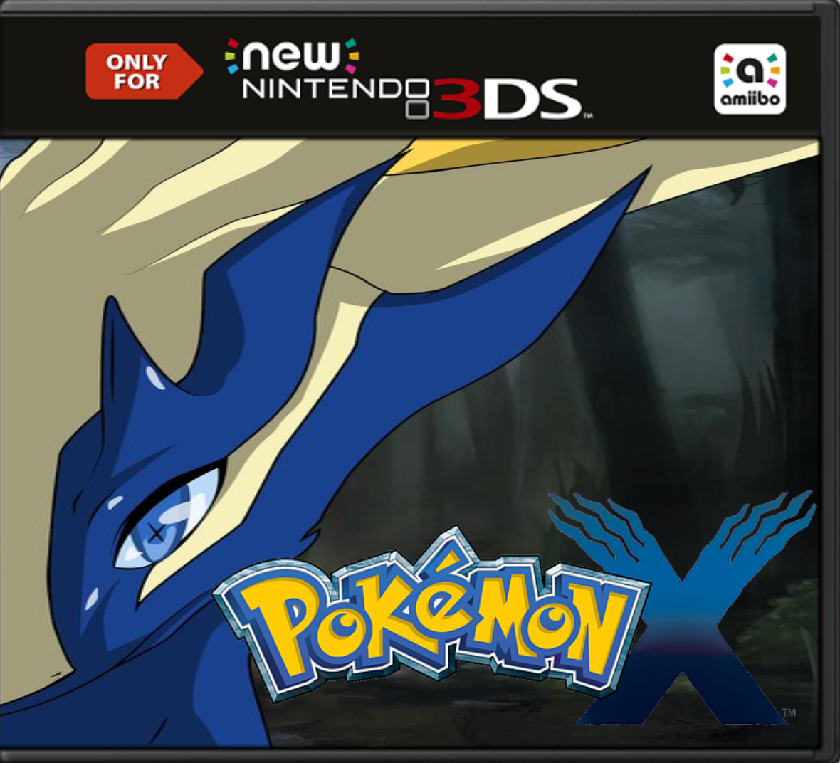 Pokemon X Decrypted 3DS EUR