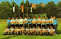 SELECCIÓN DE ARGENTINA - Temporada 1973-74 - Plantel de jugadores que representaron a Argentina en la Copa del Mundo de 1974 en Alemania, en la que fue eliminada en la 2ª fase