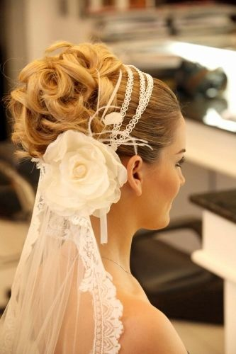La Moda En Tu Cabello Peinados 2016 De Novias Con Velo