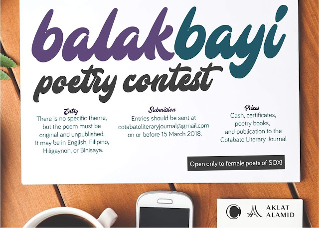 Balakbayi: A Poetry Contest for Women in SOCCSKSARGEN