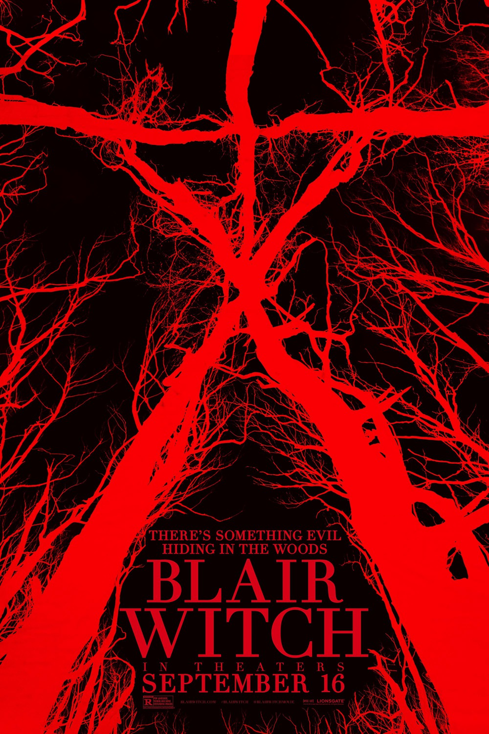 blair witch project movie It's been 20 years since james's sister and her two friends vanished into the black hills forest in maryland while researching the legend of the blair witch, leaving a trail of theories and suspicions in their wake.