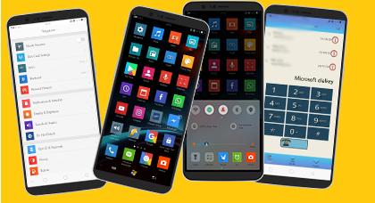 Tema Windows 10 Untuk Oppo Tembus ke Semua Aplikasi