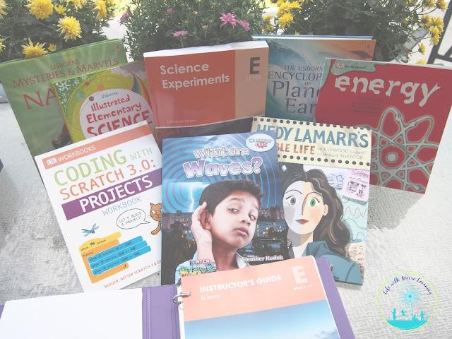 BookShark Science uses a variety of books to teach kids.