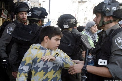 Israel Tangkap 543 Anak Palestina Selama 2020