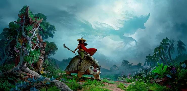 Райя и последний дракон мультфильм