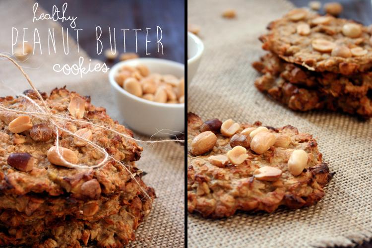 Healthy Peanut Butter Cookies || Kochkarussell