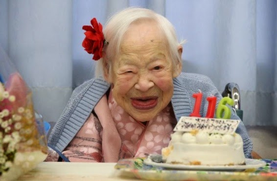 Japanese woman, Misao Okawa,world's oldest person dies at 117