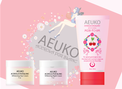 cream aeuko acerola dan mud foam
