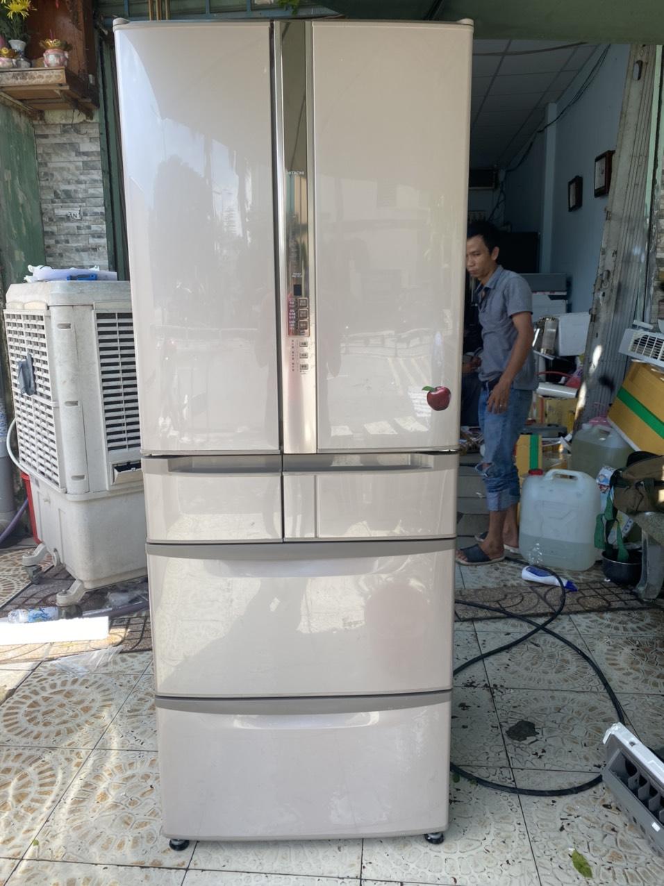 tủ lạnh hitachi 6 cánh hút chân không