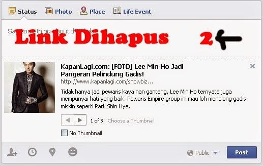 shared link facebook 2