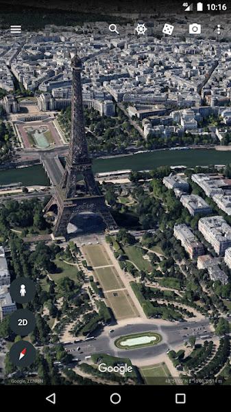 Como ver Timelapse no Google Earth na aplicação Android?