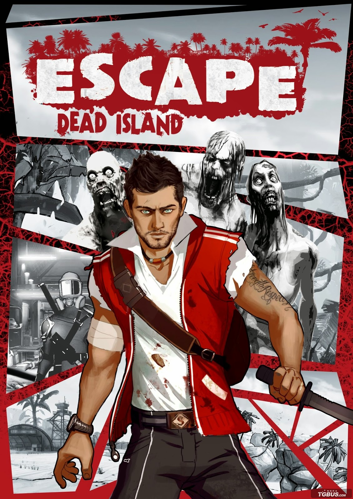 Escape Dead Island - box art