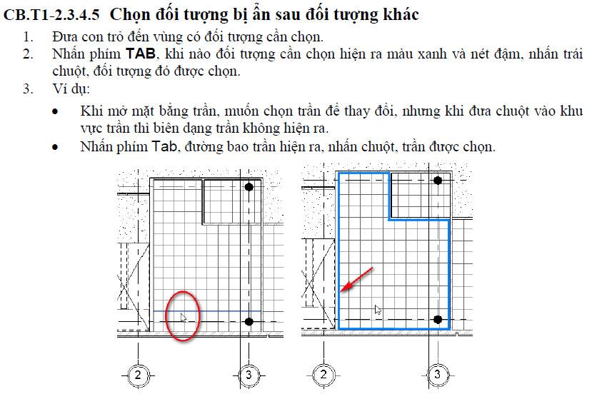 Cách chọn đối tượngk trong Revit 2014 đến 2016 Chon-dtuong-10