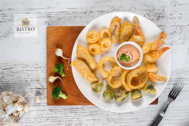 Tempura seafood | Hải sản tẩm bột chiên giòn