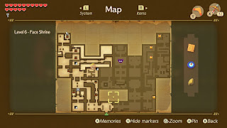 Face Shrine dungeon map - the are no hidden rooms anymore