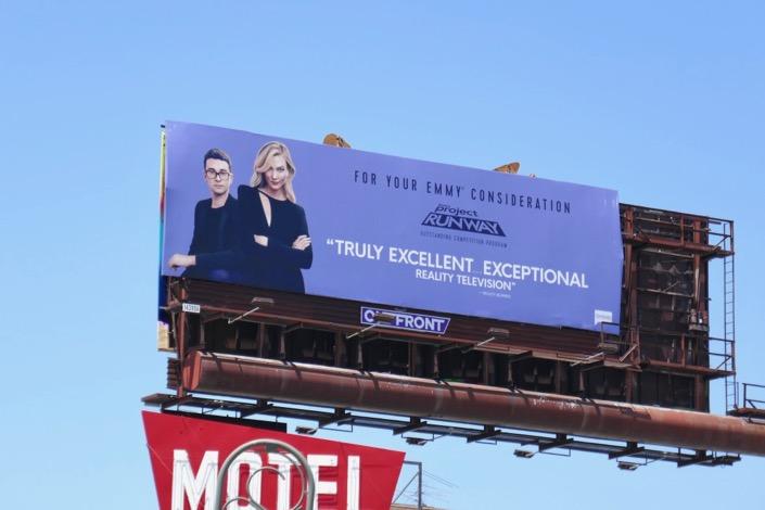 Project Runway season 17 Emmy FYC billboard