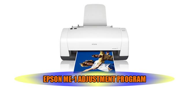 EPSON ME-1 PRINTER ADJUSTMENT PROGRAM