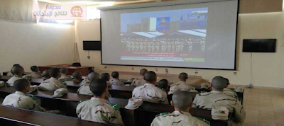 صور من داخل المعهد الفنى للقوات المسلحه