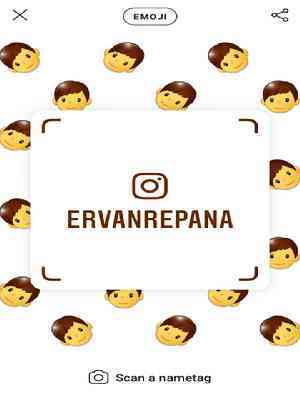 Emoji nametag