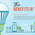 The Benefits of LED lighting #infographic