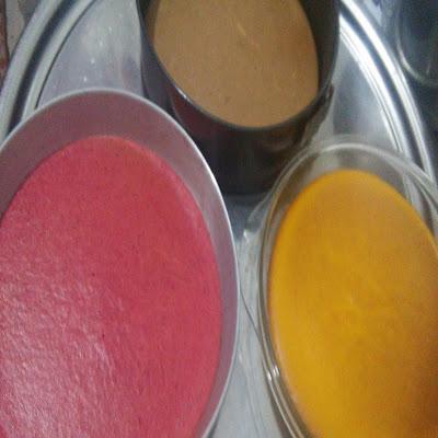 renkli pasta yapılışı