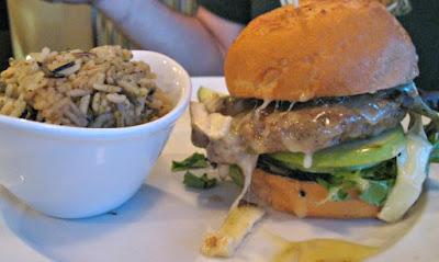 Bay City Harvey's Grill Gluten Free Burger