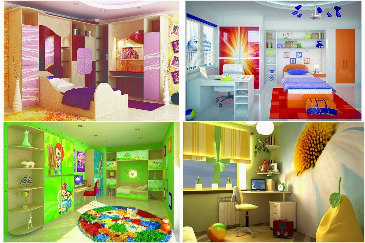Stunning Rooms And Magical Inspiration - Impressive Kids Room Design Ideas