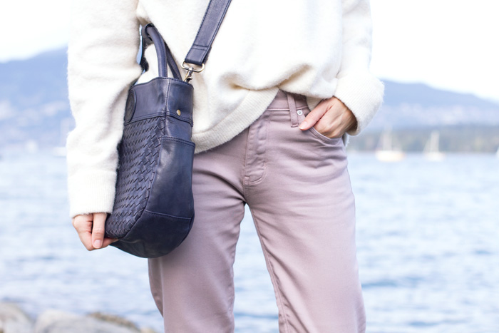 Vancouver fashion blogger, Alison Hutchinson of Styling My Life in Dish & Duer Althletic Jeans
