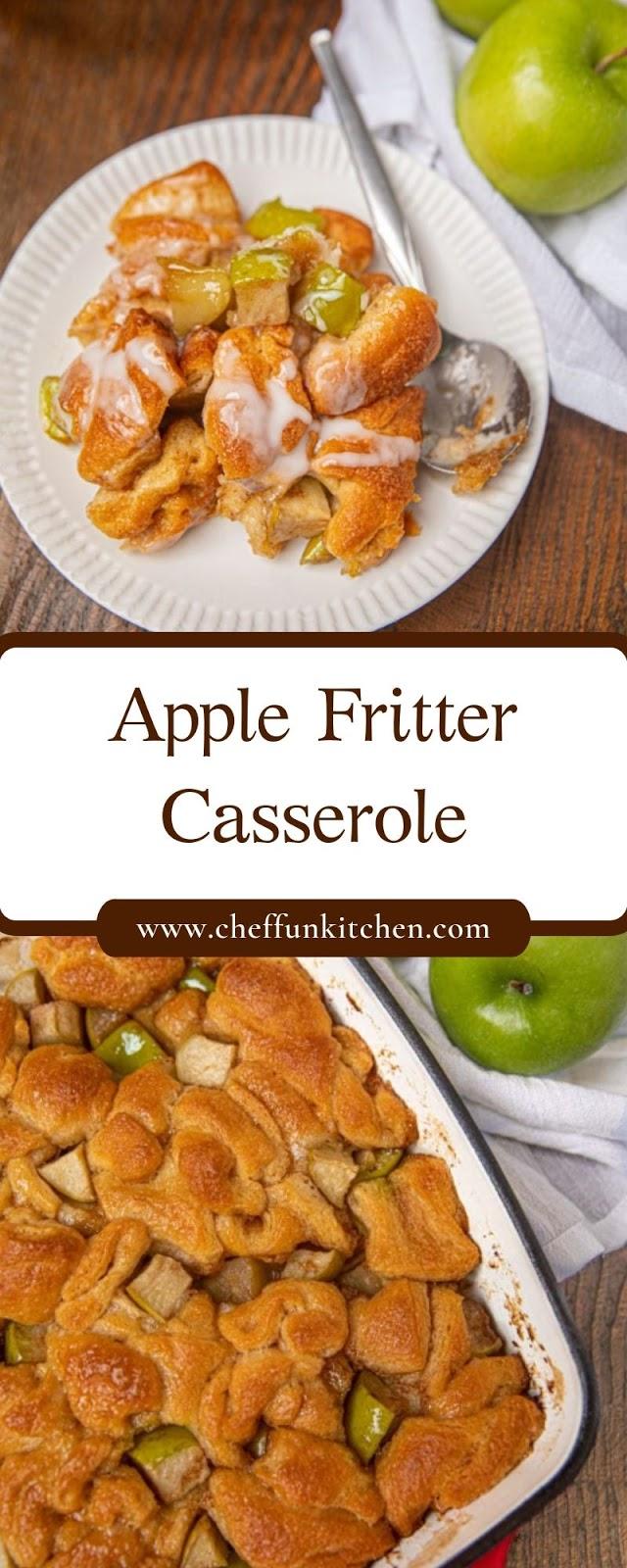 Apple Fritter Casserole