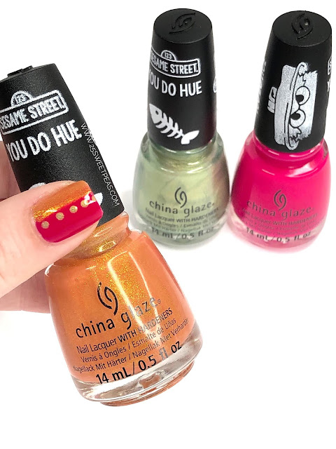Color Blocking Nail Art