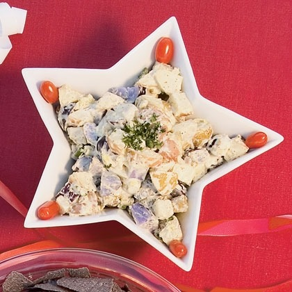 Patriotic Potato Salad Recipe