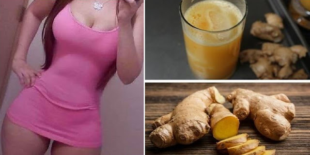 Ginger Infusion To Remove Belly Fat, Back And Thighs!