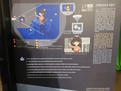 Detalle de la cartela de los electroduendes en el MITA