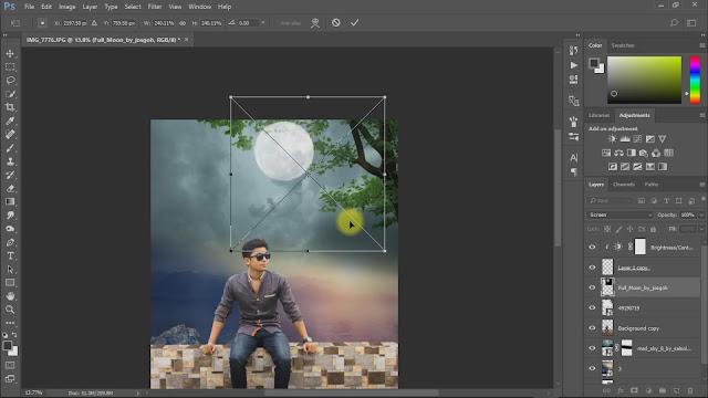 moon light photo manipulations screenshot 4