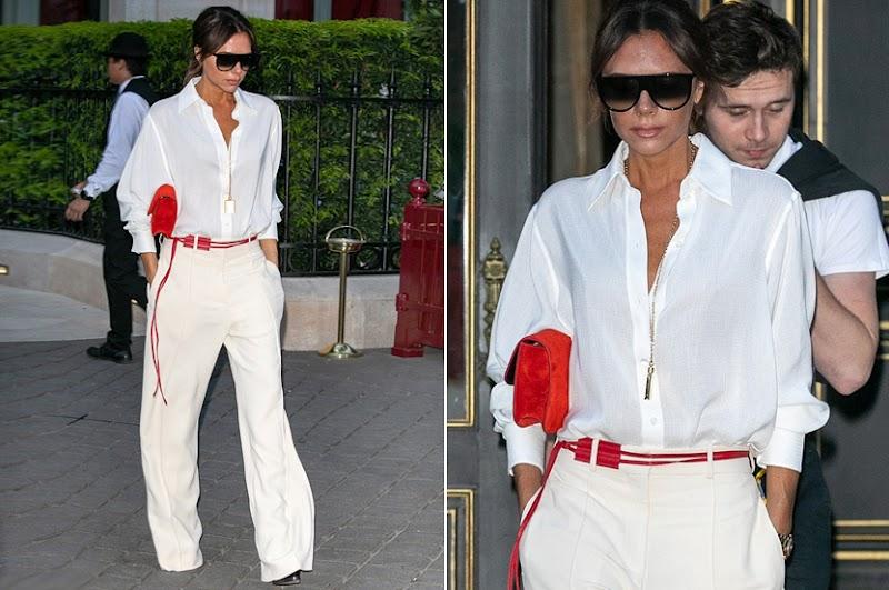 Victoria Beckham tiene el 'total white look' perfecto