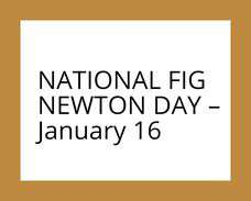 National Fig Newton Day Wishes Unique Image