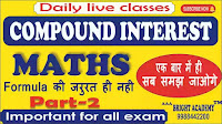 Compound Interest Maths Class