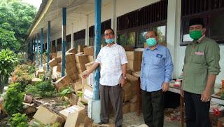 Penanganan Paket Sembako Dari Pemprovsu Tidak Profesional, Anggota DPRD Sumut Tegur GTPP Batu Bara